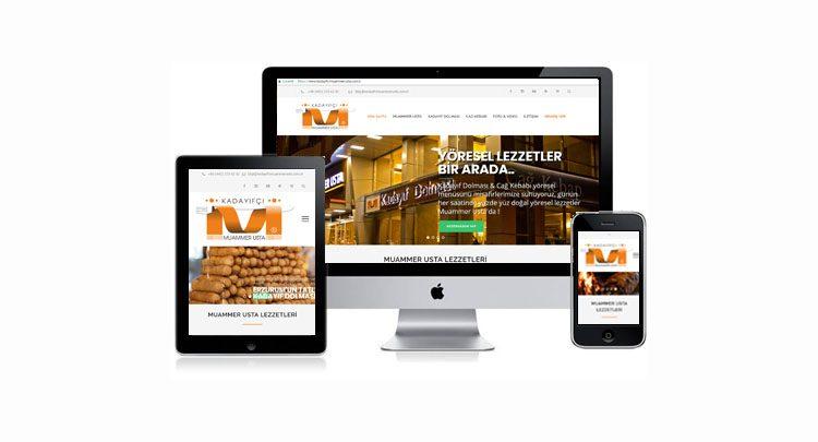 Mobile Uyumlu Yeni Web Sayfası